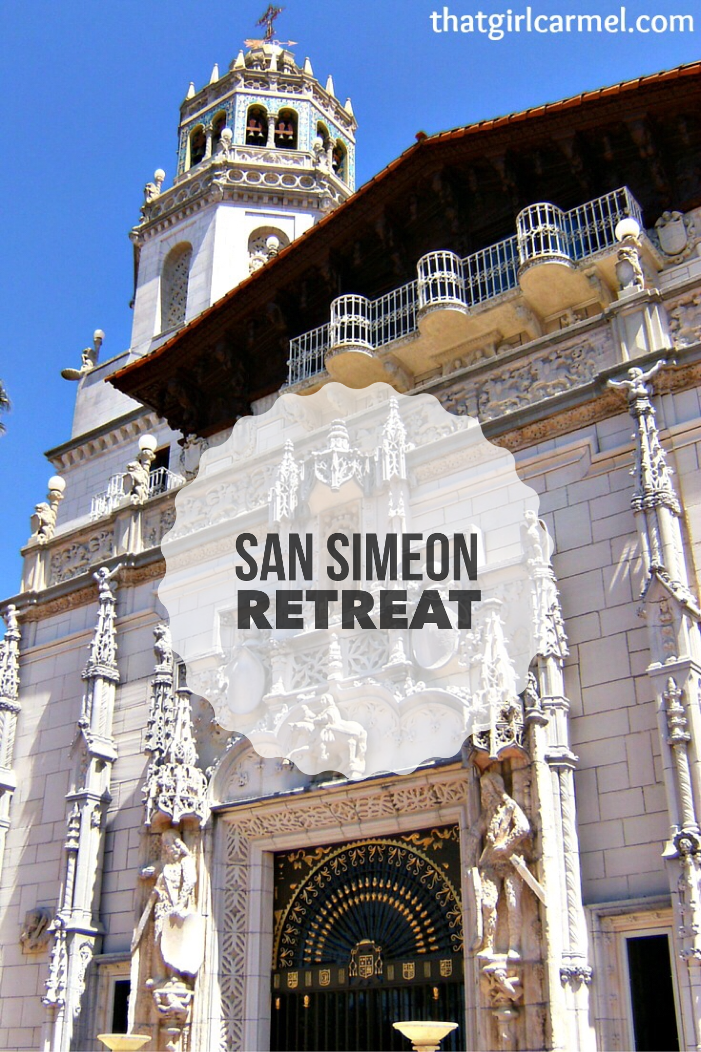 Retreat To San Simeon Ca