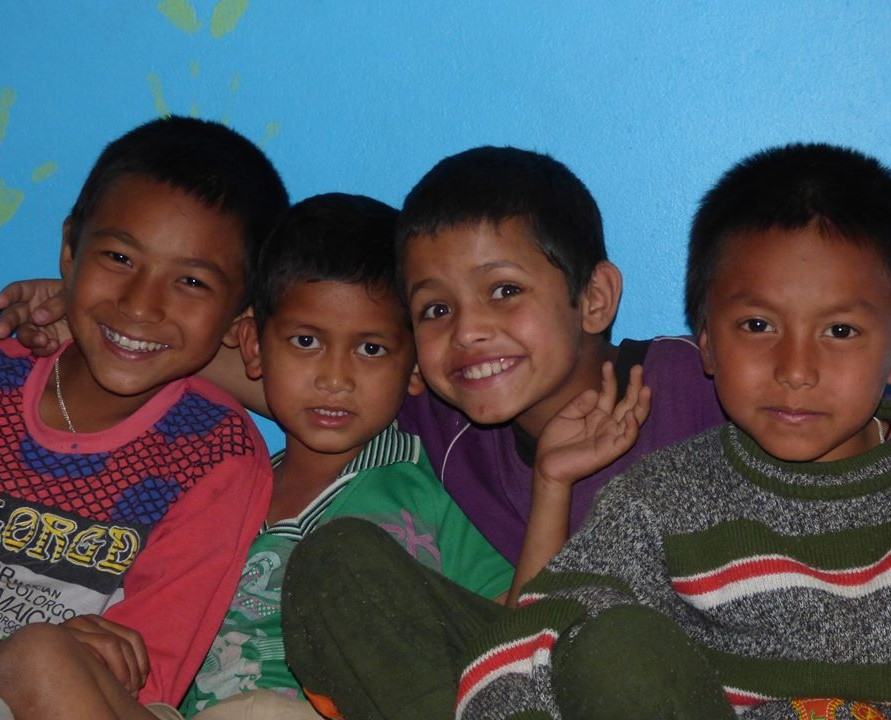 Making a Home for Nepalese Kids at Nana's House
