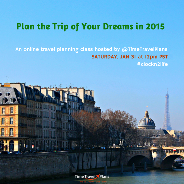 Plan the Trip of Your Dreams in 2015
