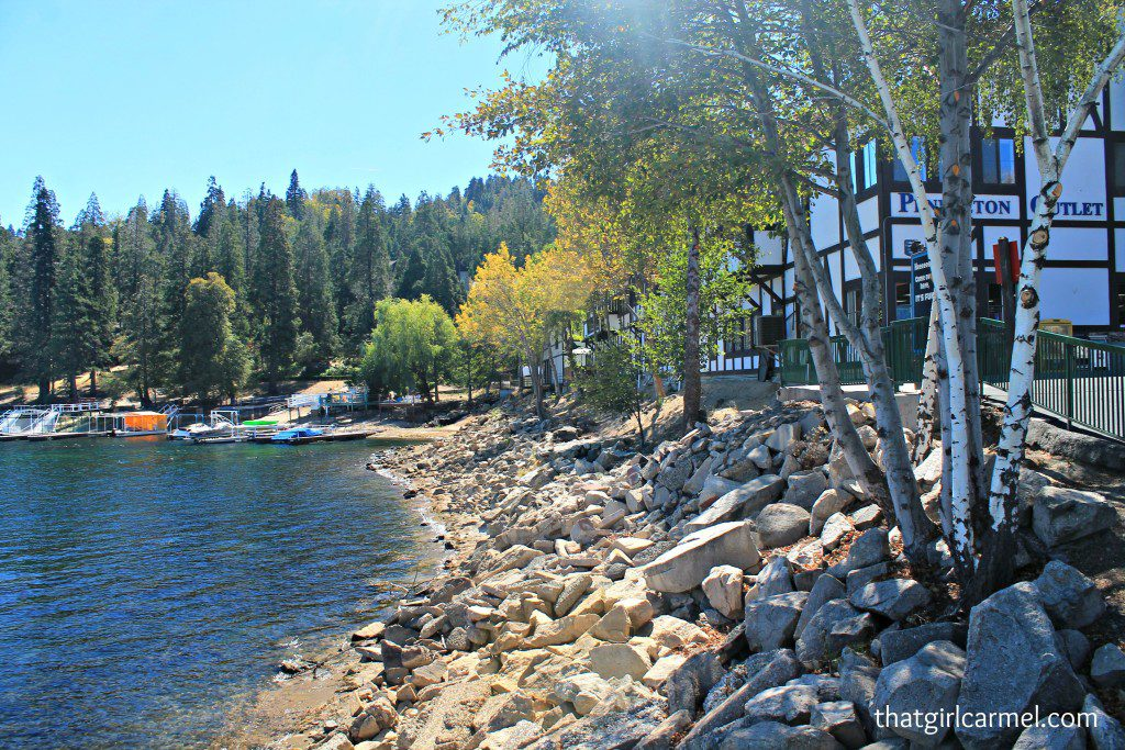 October Scenes from Lake Arrowhead