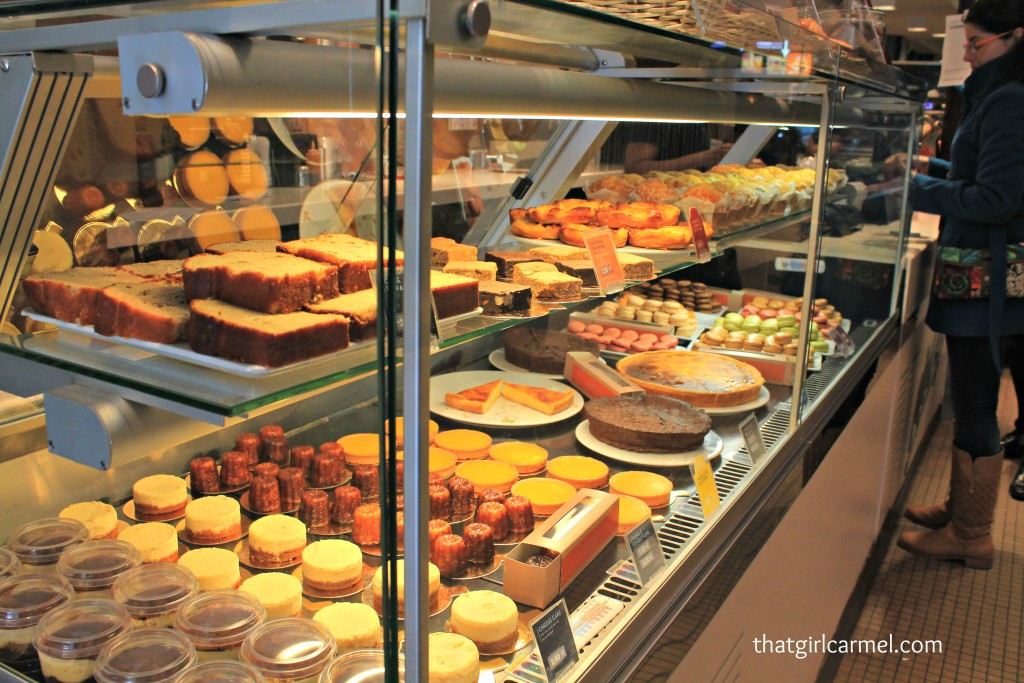 Look at the goodies on display at the McDonald's near Arc de Triomphe on Champs-Élysées