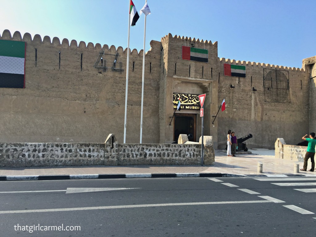 Al Fahidi Fort - home of the Dubai Museum