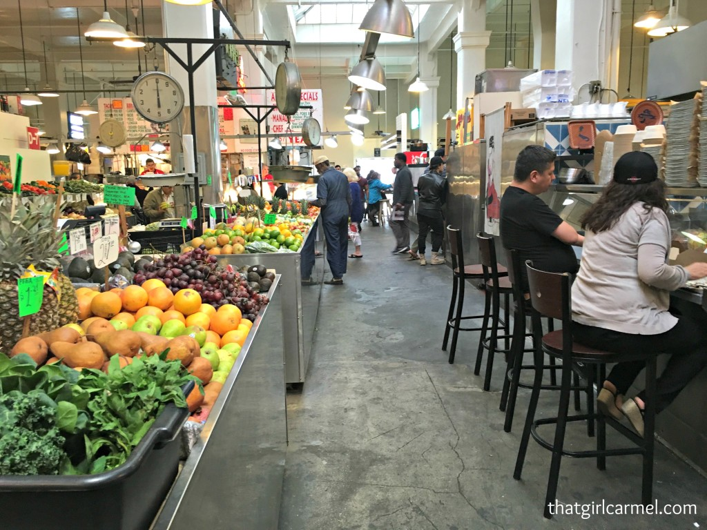 Grand Central Market has really changed since the last time I was there. Have you ever witnessed the gentrification of a market?!