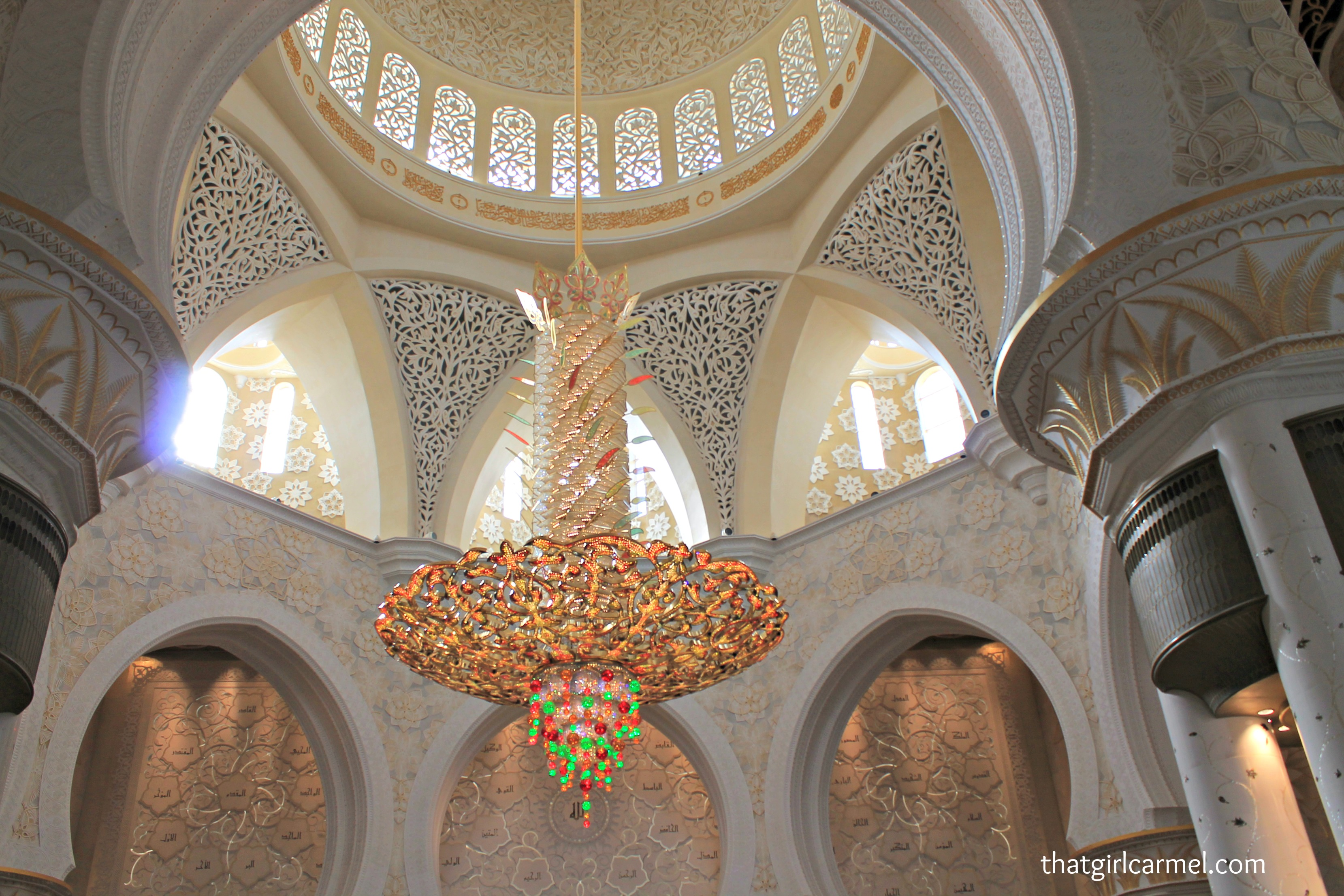 Colors Patterns At Sheikh Zayed Grand Mosque Thatgirlcarmel