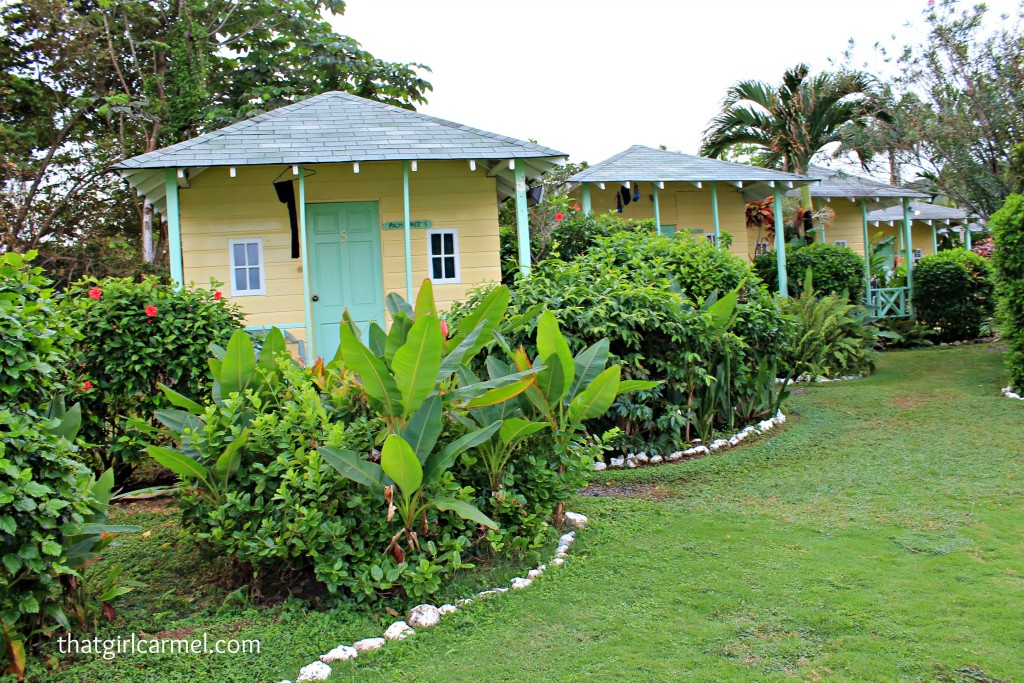 Hotel Jamaican Colors...cute from the outside - right?