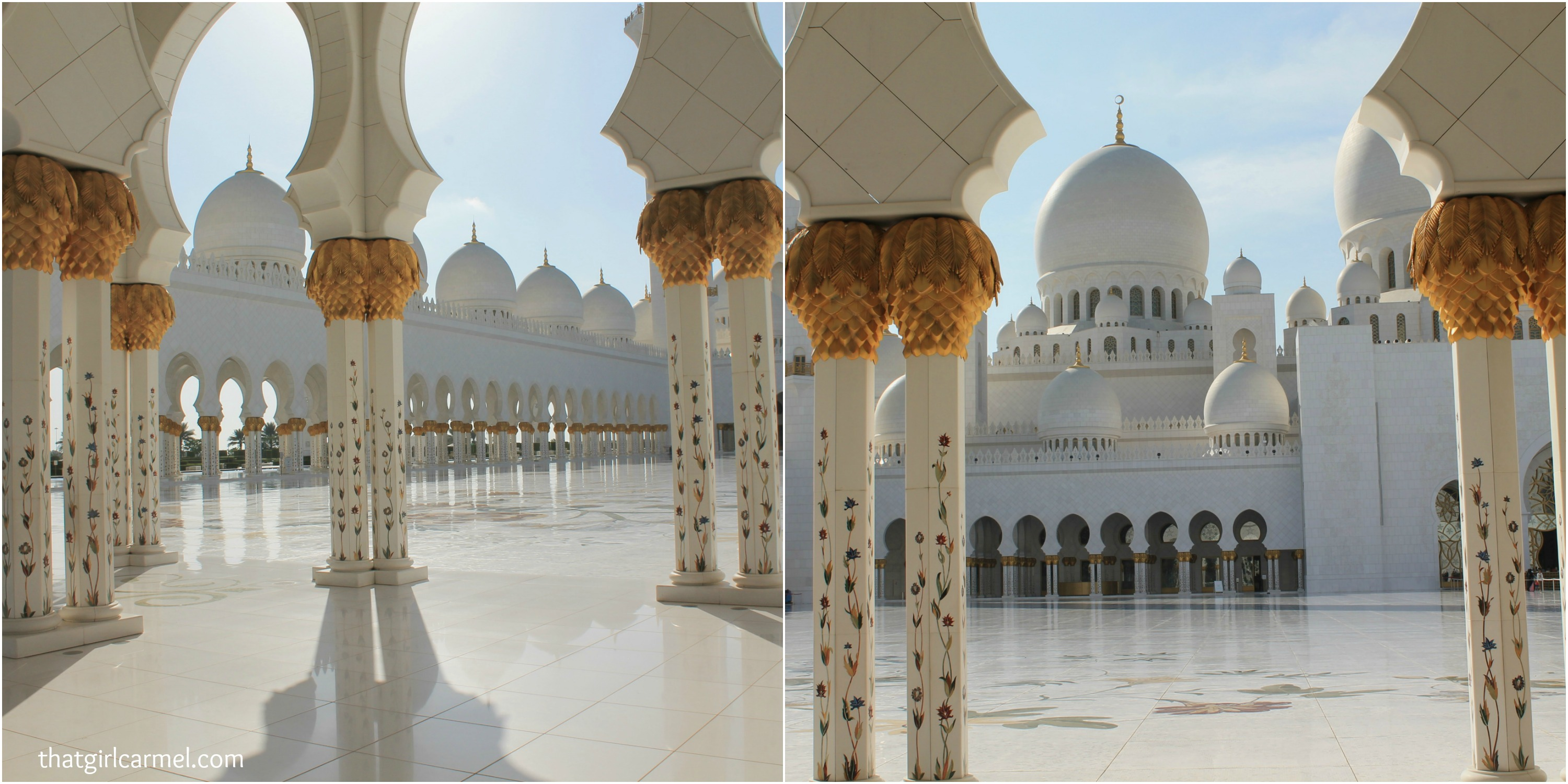 Colors patterns at sheikh zayed grand mosque for Mosque exterior design