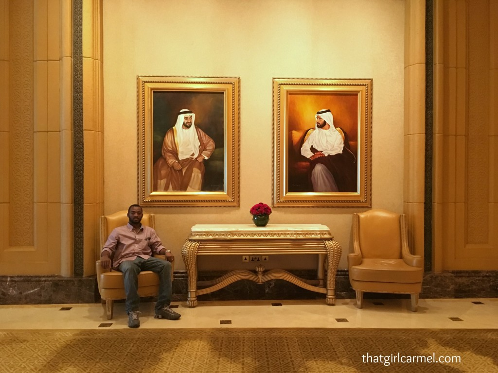 My king and the sheikhs