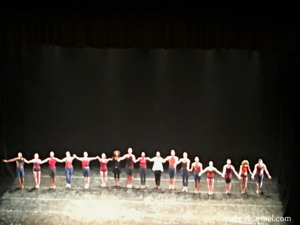 A fuzzy picture of the curtain call