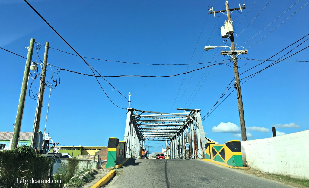 Headed to Treasure Beach, we crossed this bridge over the Black River