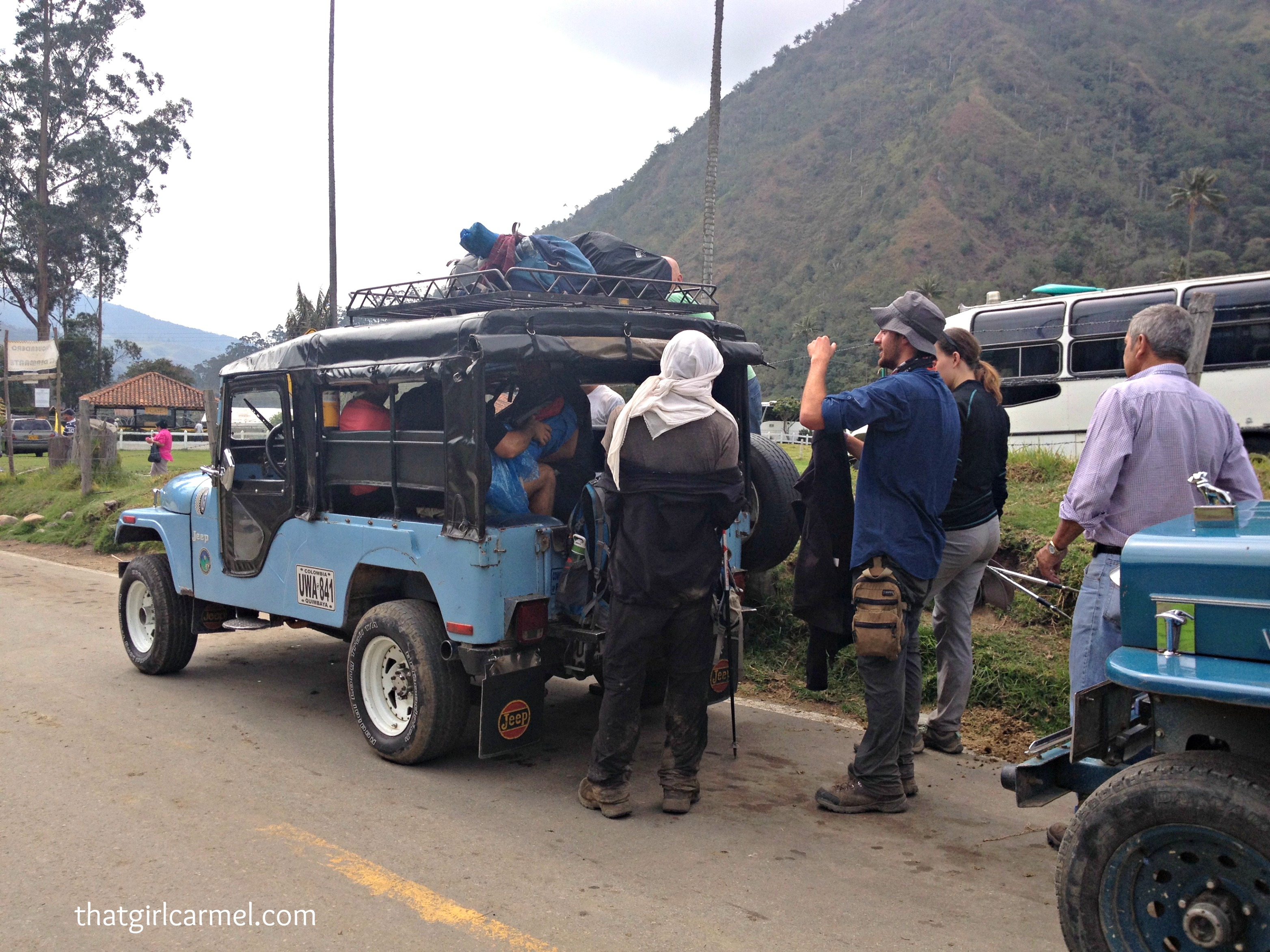 Jeeps to the Cocora Valley